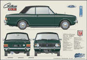 Ford Cortina MkII 1600GT 1966-70
