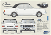 Ford Cortina MkII 1300 Deluxe 1966-70