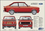 Ford Escort MkII Mexico 1976-78