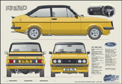 Ford Escort MkII RS2000 1978-79